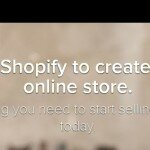Shopify - business ideas from the beach