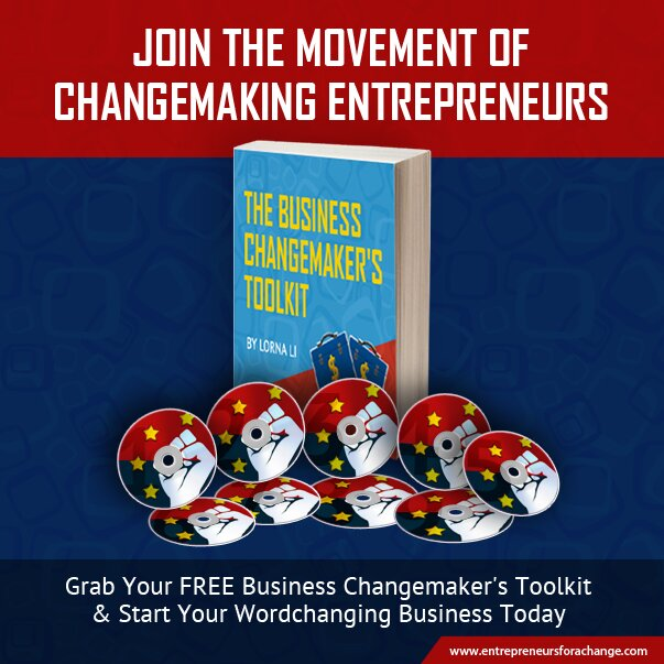 Get the FREE Business Changemaker's Toolkit