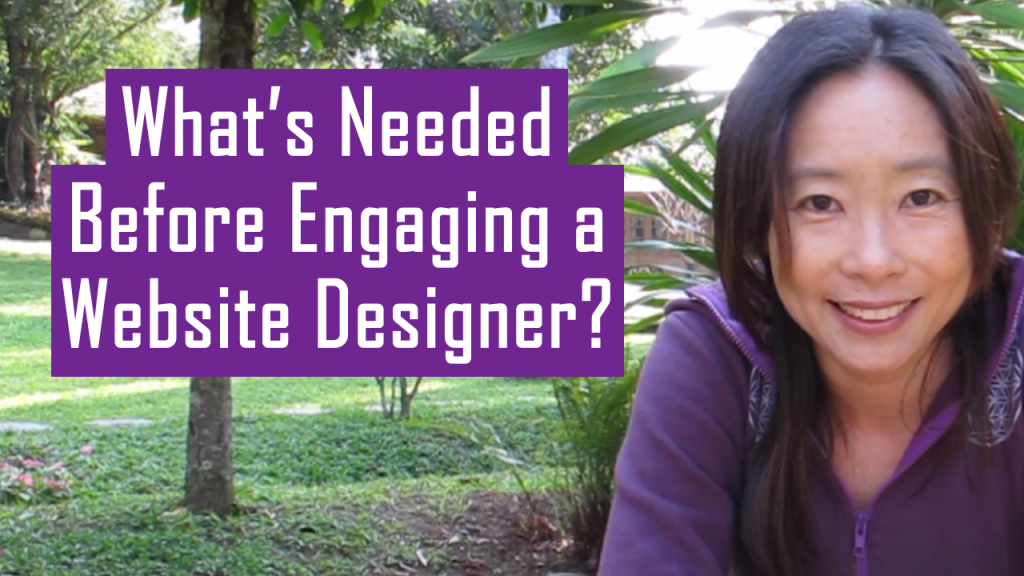 What Do You Need to Have Ready Before You Engage a Website Designer?